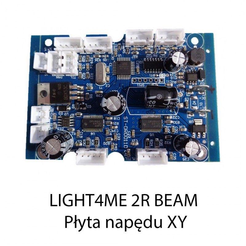 S. LIGHT4ME 2R BEAM PŁYTA NAPĘDU XY
