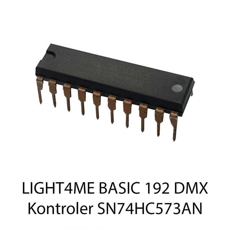 S. LIGHT4ME BASIC 192 DMX KONTROLER SN74HC573AN