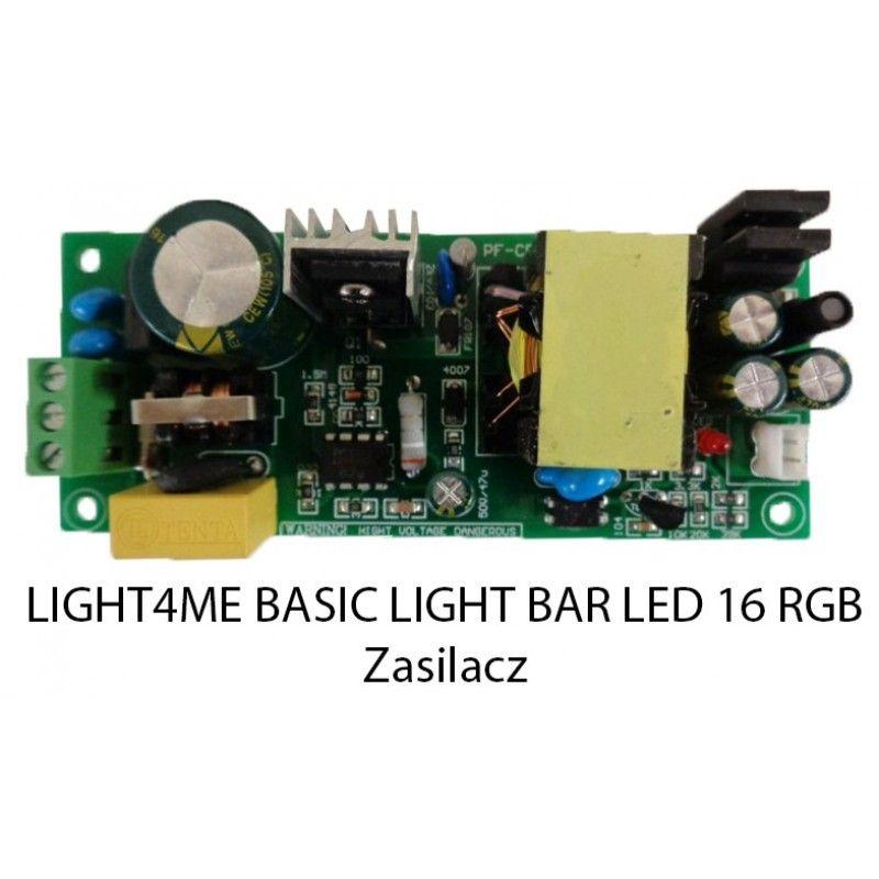 S. LIGHT4ME BASIC LIGHT BAR LED 16 RGB ZASILACZ