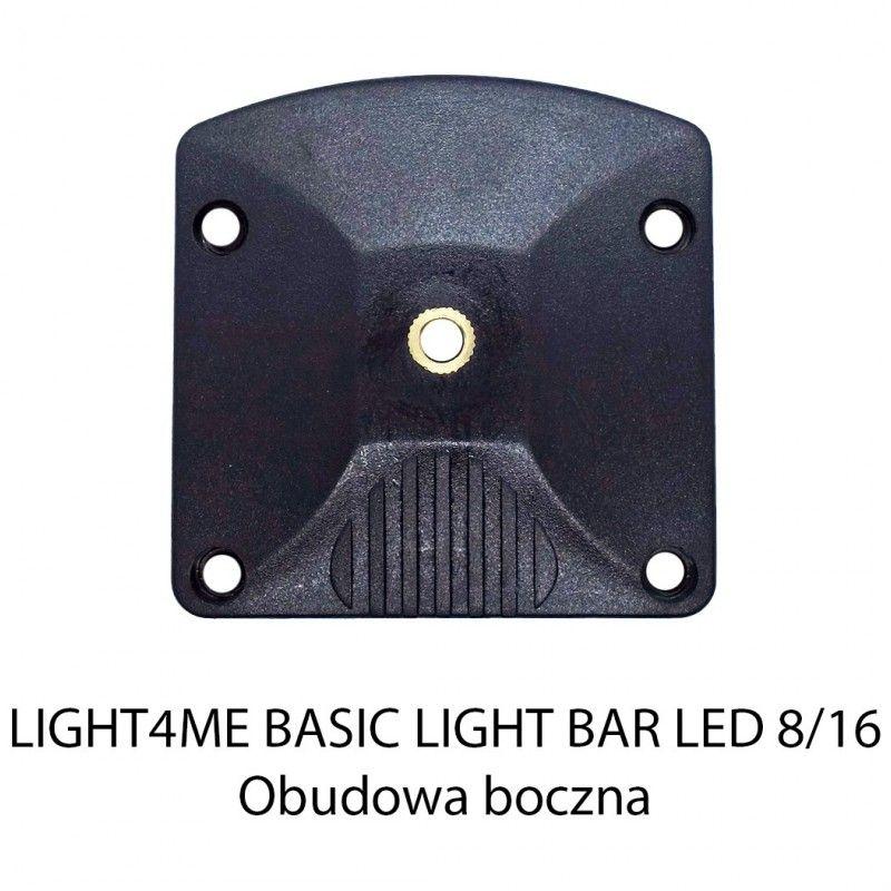 S. LIGHT4ME BASIC LIGHT BAR LED 8/16 OBUD.BOCZ. BK