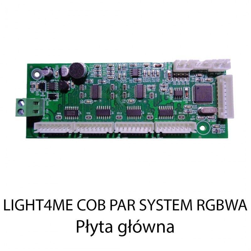 S. LIGHT4ME COB PAR SYSTEM RGBWA PŁYTA GŁÓWNA