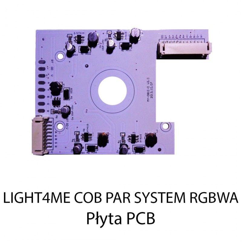 S. LIGHT4ME COB PAR SYSTEM RGBWA PŁYTA PCB