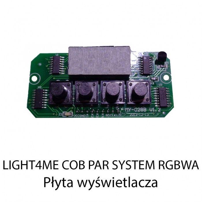 S. LIGHT4ME COB PAR SYSTEM RGBWA PŁYTA WYŚWIETLACZ