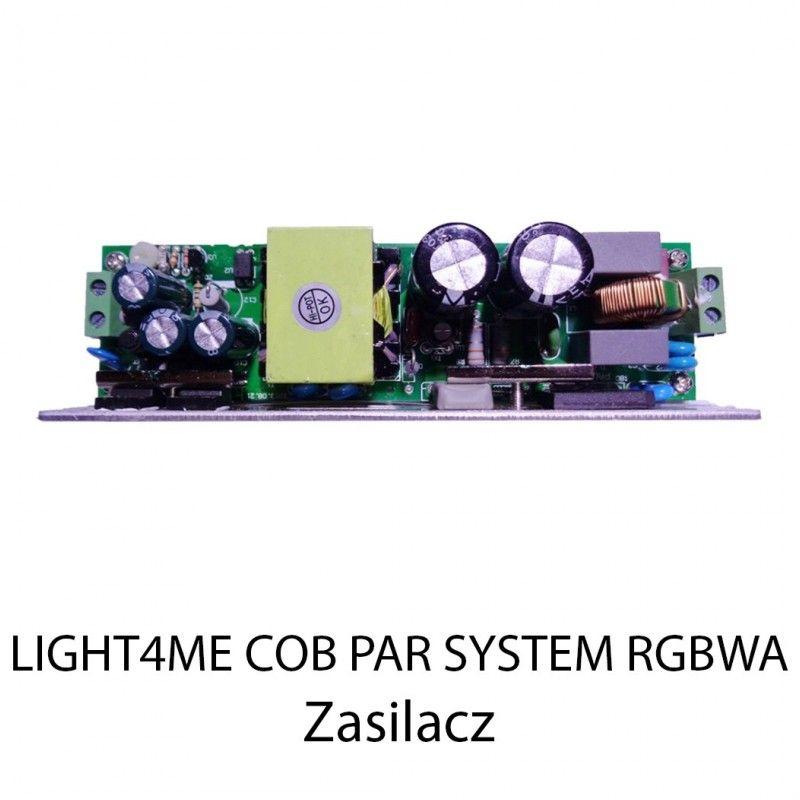 S. LIGHT4ME COB PAR SYSTEM RGBWA ZASILACZ