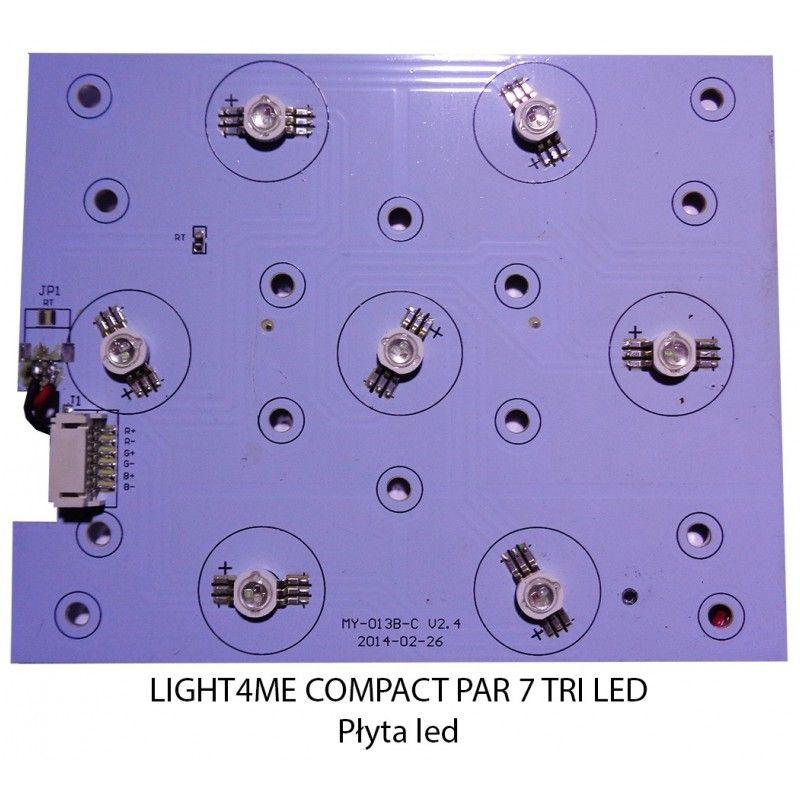 S. LIGHT4ME COMPACT PAR 7 TRI LED PŁYTA LED