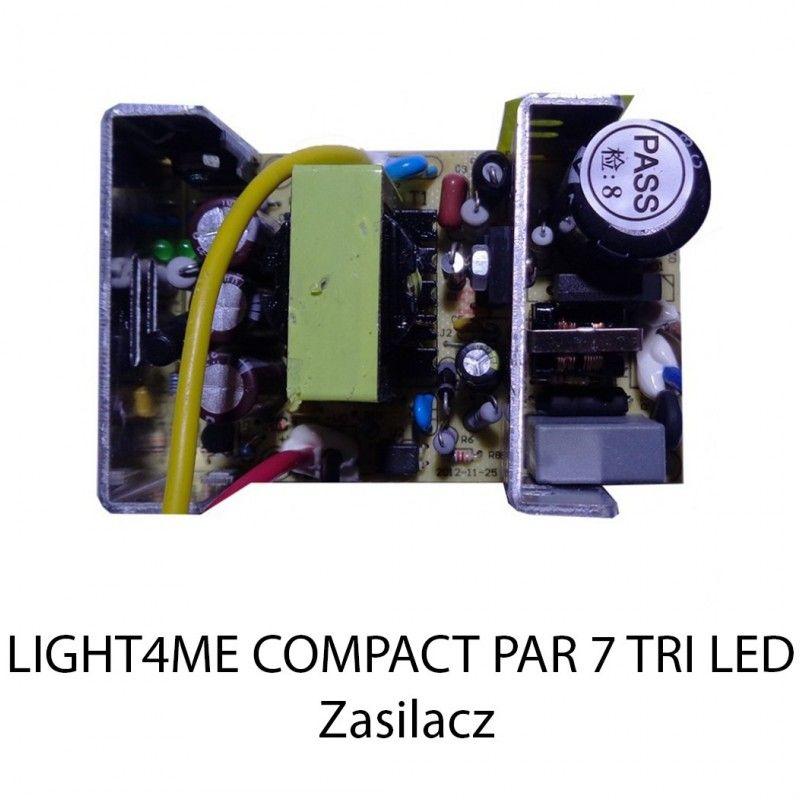 S. LIGHT4ME COMPACT PAR 7 TRI LED ZASILACZ