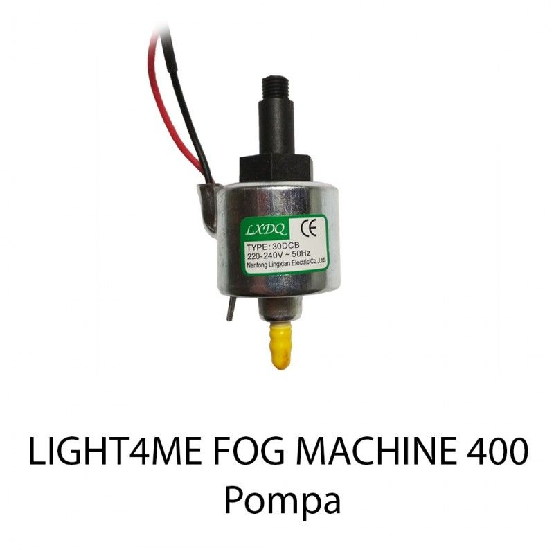 S. LIGHT4ME FOG MACHINE 400 POMPA