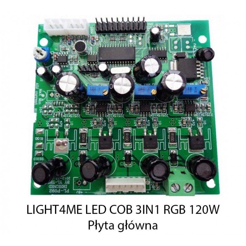 S. LIGHT4ME LED COB 3in1 RGB 120W PŁYTA GŁÓWNA