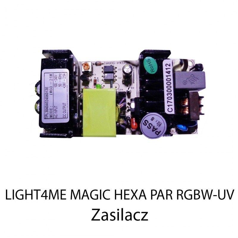 S. LIGHT4ME MAGIC HEXA PAR RGBW-UV ZASILACZ