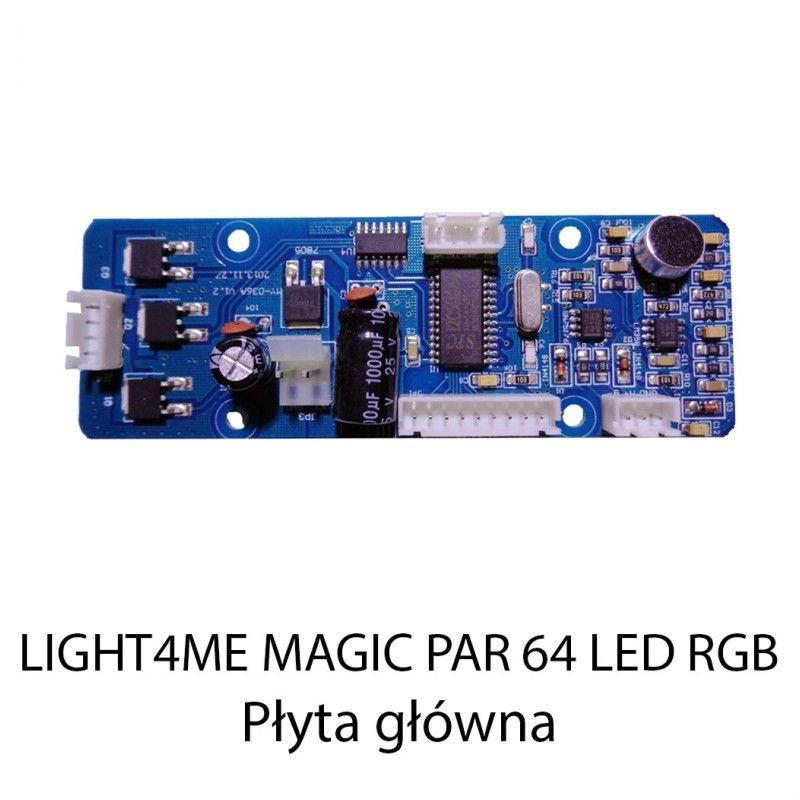 S. LIGHT4ME MAGIC PAR 64 LED RGB 177 PŁYTA GŁÓWNA