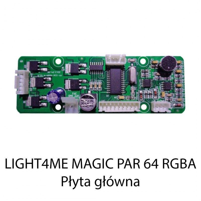 S. LIGHT4ME MAGIC PAR 64 RGBA PŁYTA GŁÓWNA