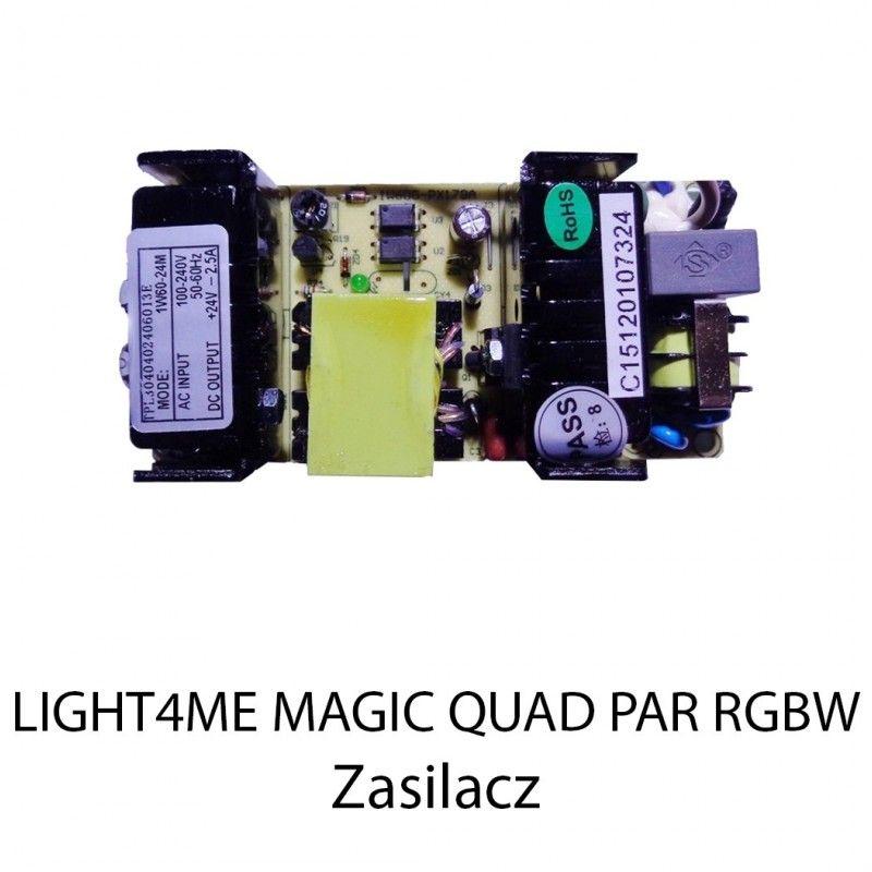 S. LIGHT4ME MAGIC QUAD PAR RGBW ZASILACZ