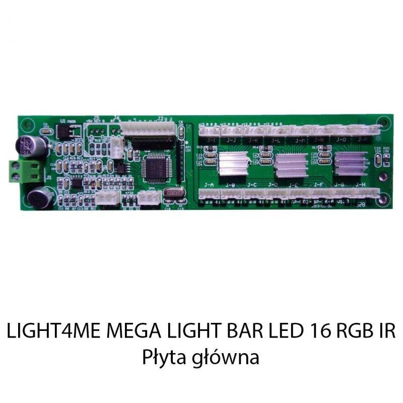 S. LIGHT4ME MEGA LIGHT BAR LED 16 RGB IR PŁYTA GŁÓ