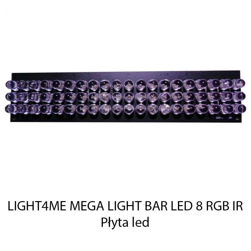 S. LIGHT4ME MEGA LIGHT BAR LED 8 RGB IR PŁYTA LED