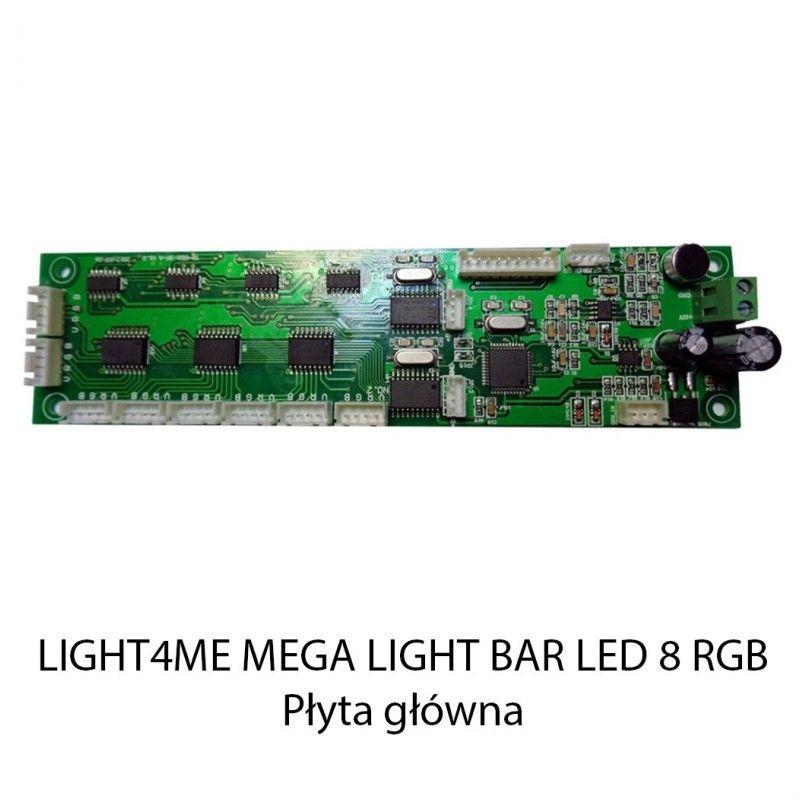 S. LIGHT4ME MEGA LIGHT BAR LED 8 RGB PŁYTA GŁÓWNA
