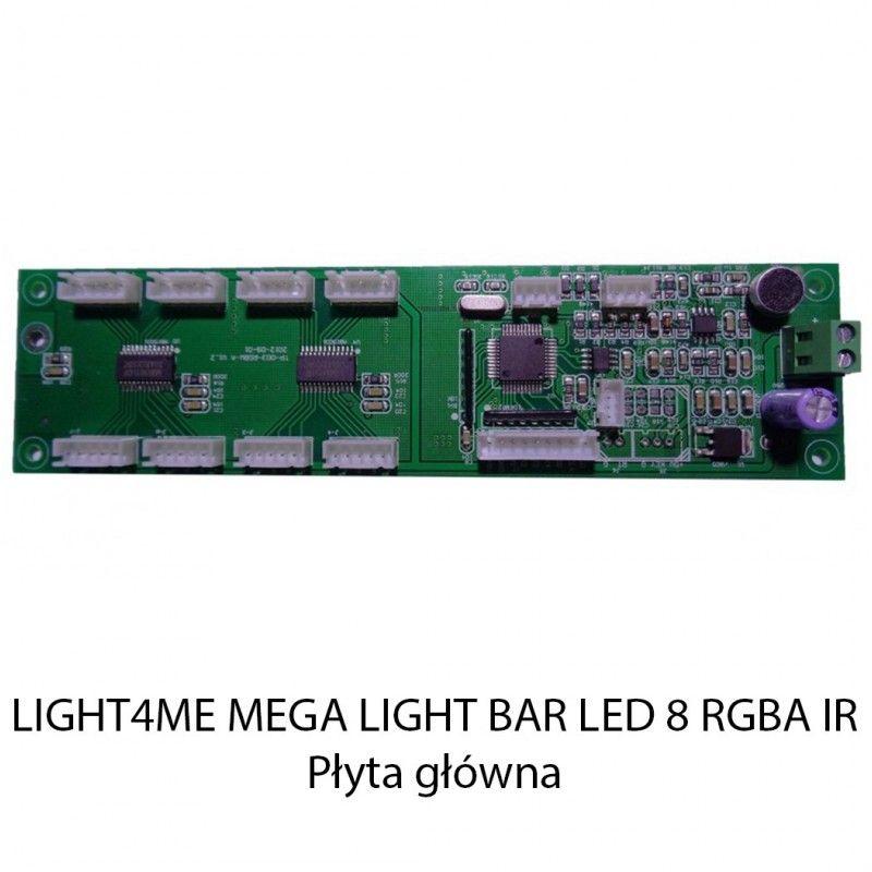 S. LIGHT4ME MEGA LIGHT BAR LED 8 RGBA IR PŁYTA GŁÓ