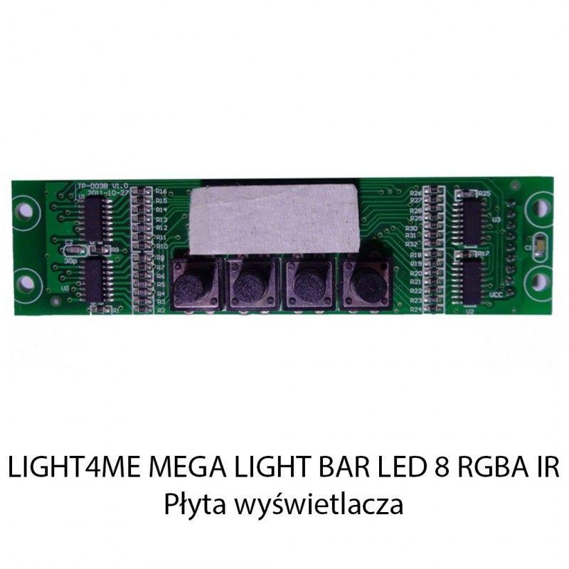 S. LIGHT4ME MEGA LIGHT BAR LED 8 RGBA IR PŁYTA WYŚ