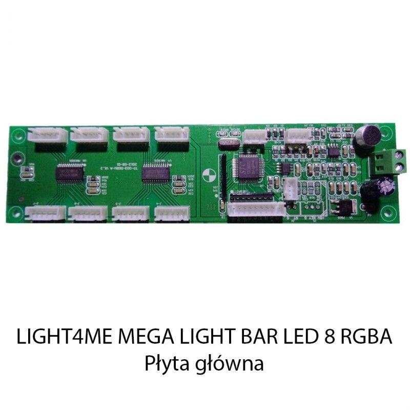 S. LIGHT4ME MEGA LIGHT BAR LED 8 RGBA PŁYTA GŁÓWNA
