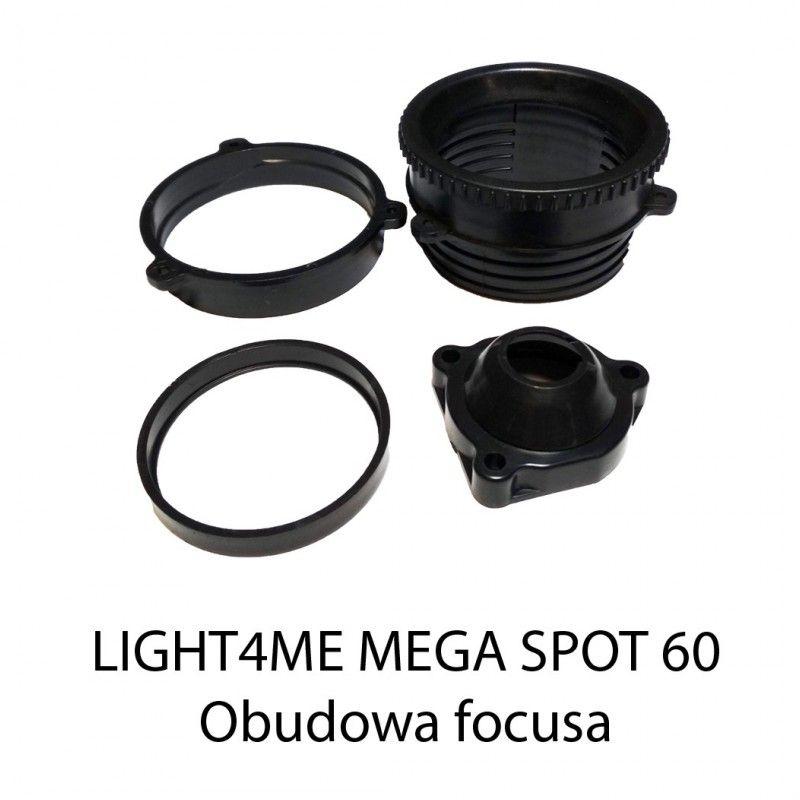 S. LIGHT4ME MEGA SPOT 60 LED OBUDOWA FOCUSA