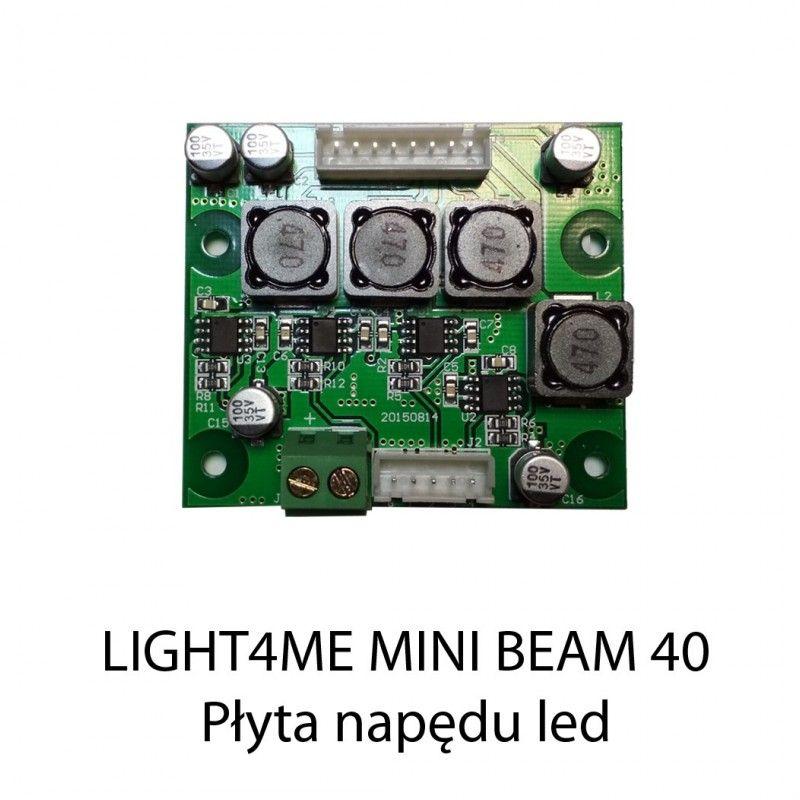 S. LIGHT4ME MINI BEAM 40 PŁYTA NAPĘDU LED