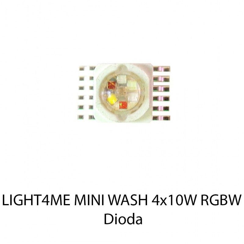 S. LIGHT4ME MINI WASH 4x10W RGBW DIODA