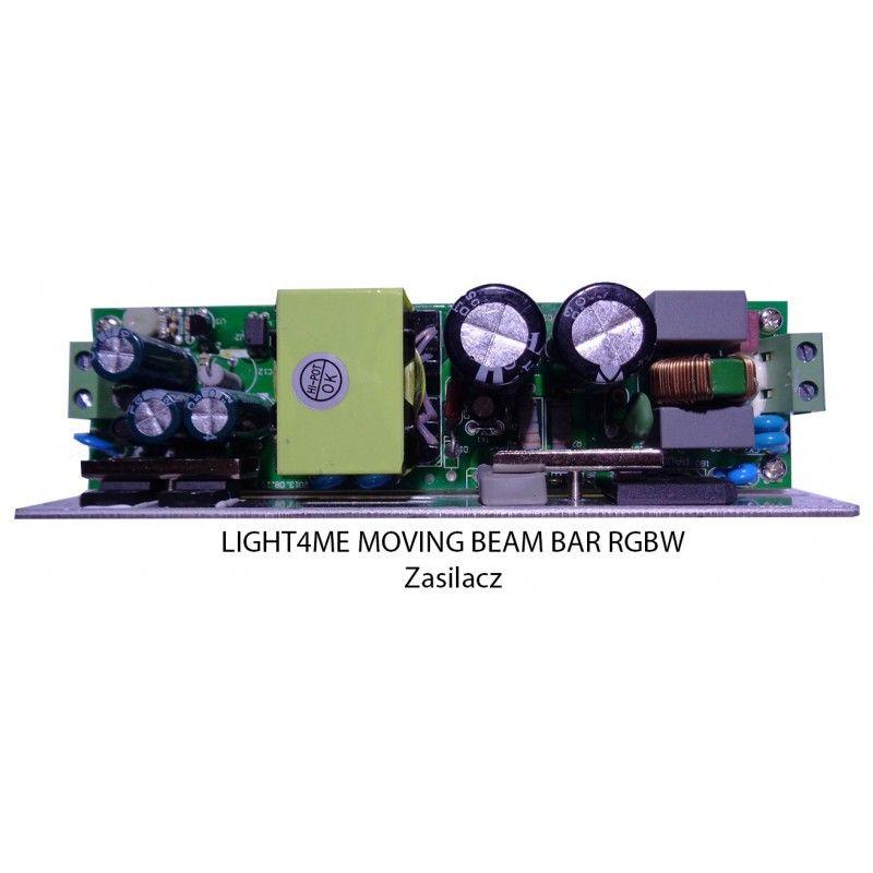S. LIGHT4ME MOVING BEAM BAR RGBW ZASILACZ
