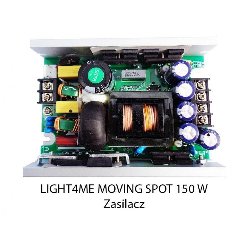 S. LIGHT4ME MOVING SPOT 150 W ZASILACZ