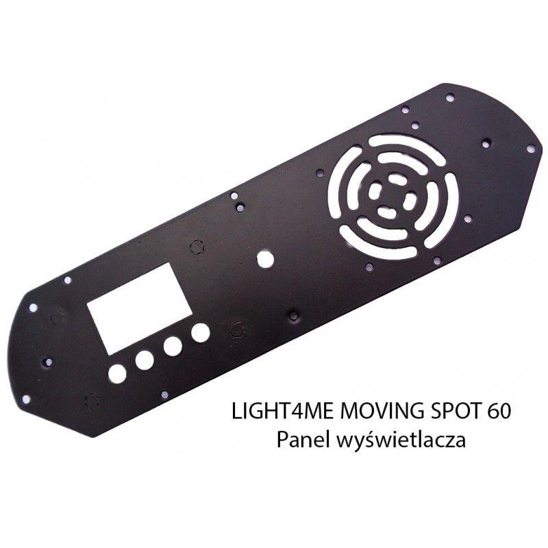 S. LIGHT4ME MOVING SPOT 60 PANEL WYŚWIETLACZA