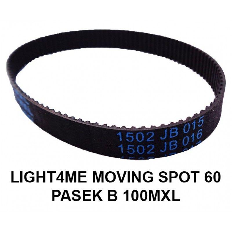 S. LIGHT4ME MOVING SPOT 60 PASEK B100MXL