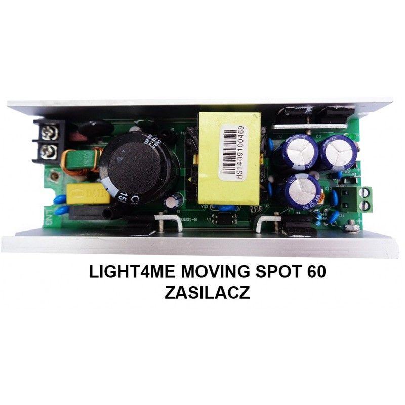 S. LIGHT4ME MOVING SPOT 60 ZASILACZ