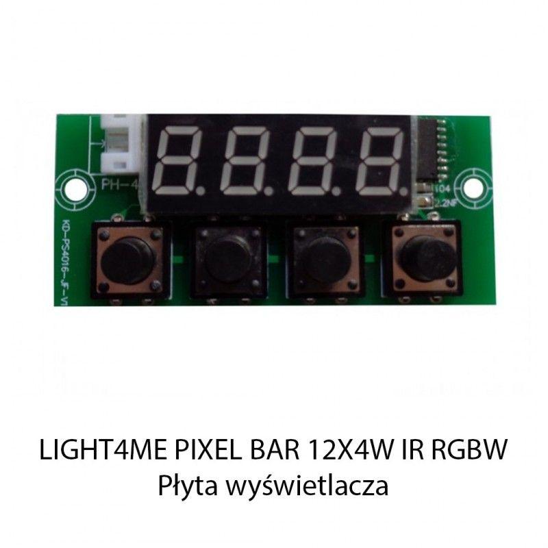 S. LIGHT4ME PIXEL BAR 12x4W IR RGBW PŁYTA WYŚWIETL