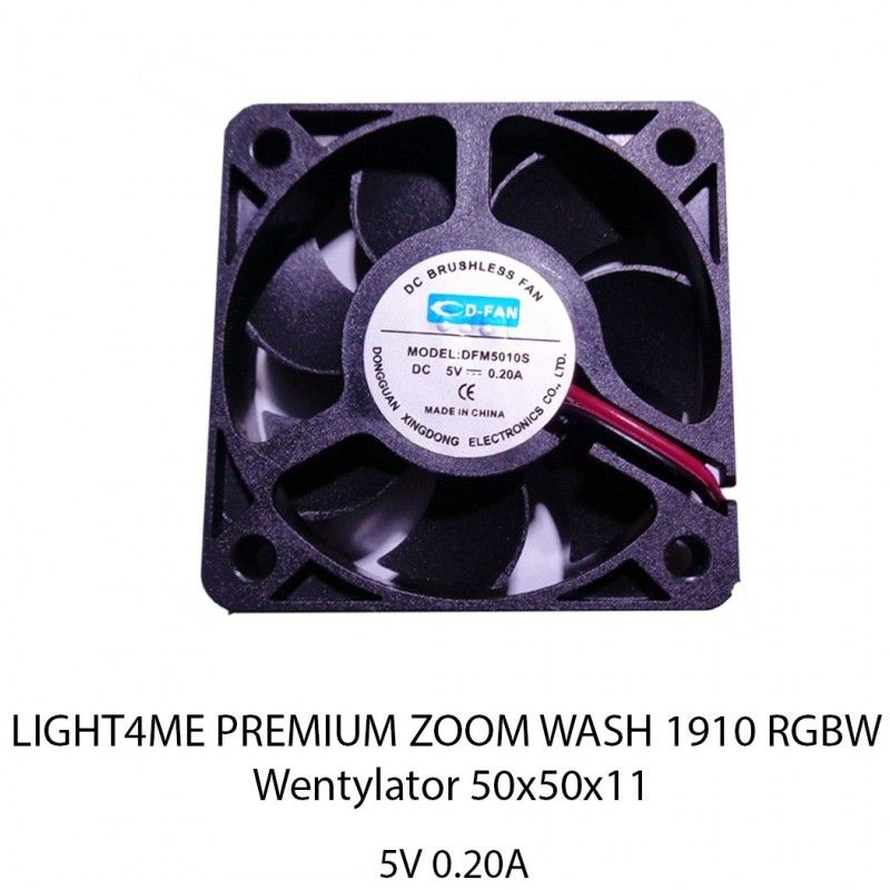 S. LIGHT4ME PREMIUM ZOOM 1910 RGBW WENT 50X50X11
