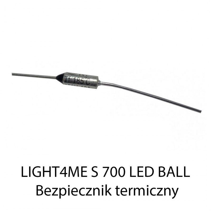 S. LIGHT4ME S 700 W LED BALL BEZPIECZNIK TERMICZNY