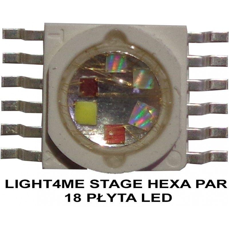 S. LIGHT4ME STAGE HEXA PAR 18 PŁYTA LED