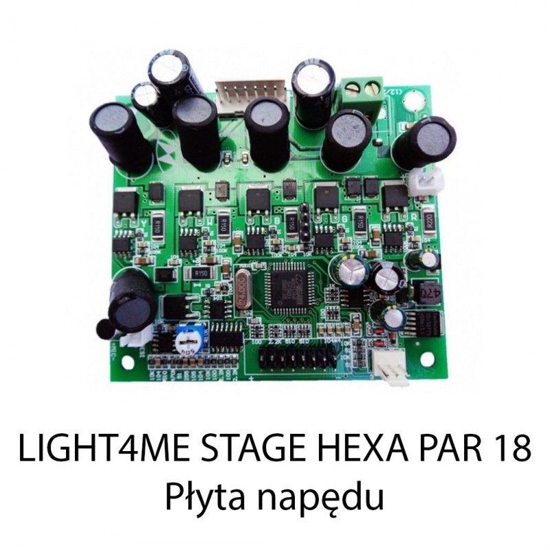 S. LIGHT4ME STAGE HEXA PAR 18 PŁYTA NAPĘDU