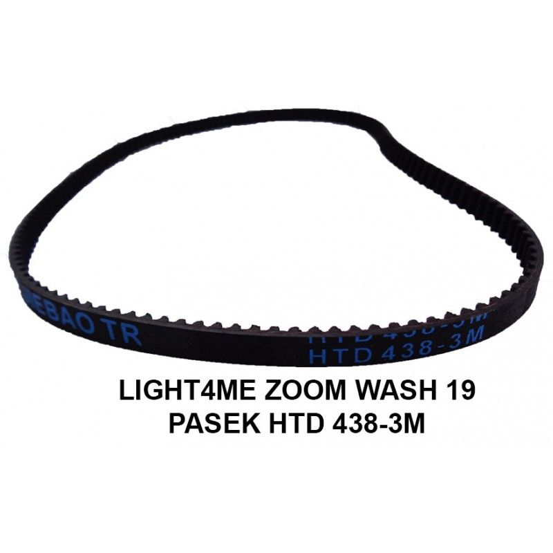 S. LIGHT4ME ZOOM WASH 19 PASEK NAPĘDU HTD 438