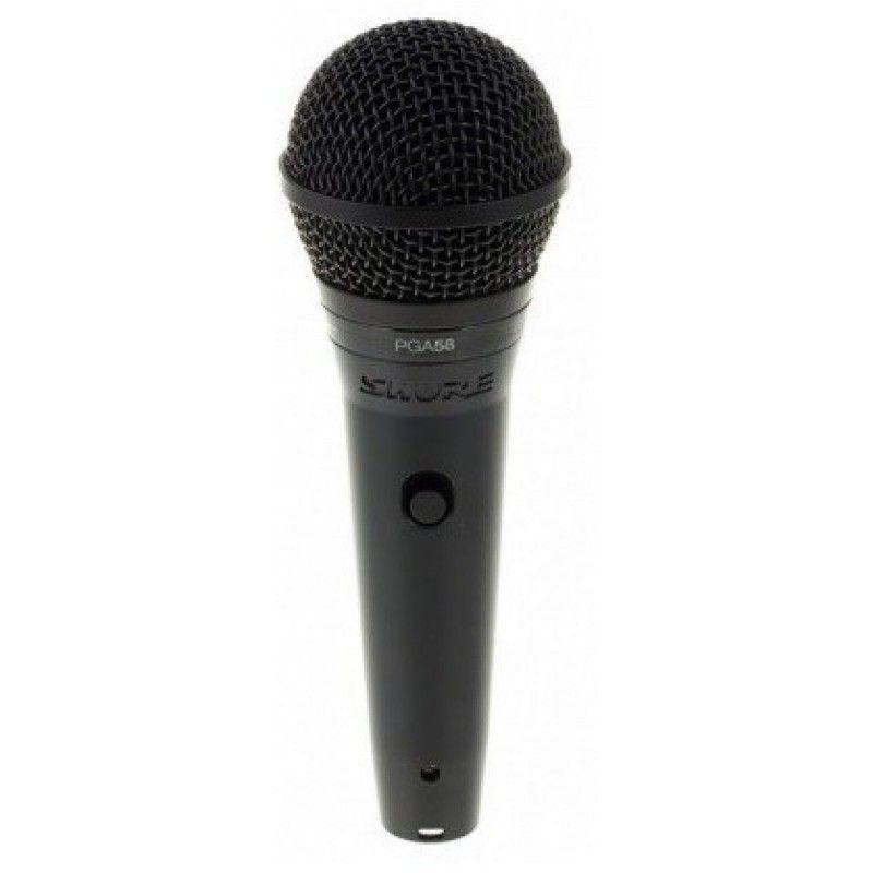 SHURE PGA 58 XLR mikrofon dynamiczny + przewód XLR
