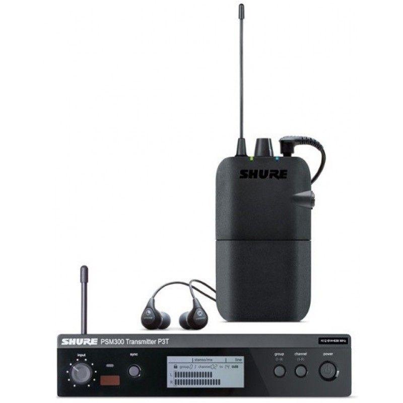 SHURE PSM 300 bezprzewodowy odsłuch P3TR112GR