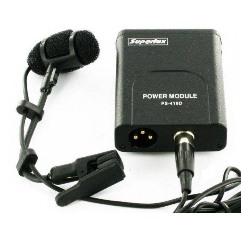 SUPERLUX PRA 383D XLR mikrofon instrumentalny