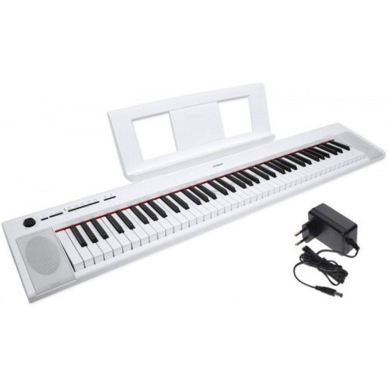 YAMAHA NP 32 WH pianino cyfrowe do nauki gry