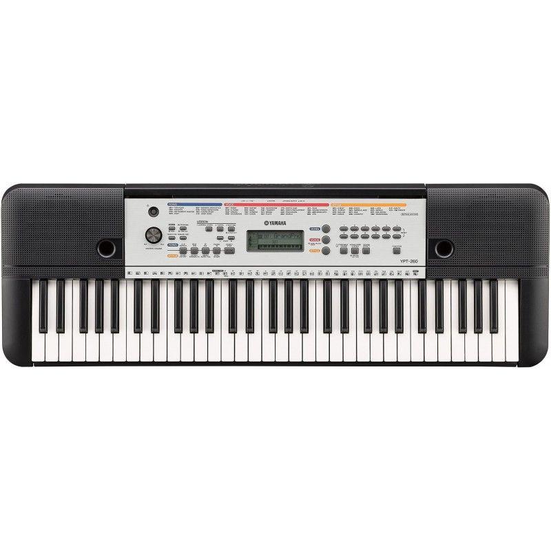 YAMAHA YPT 260 keyboard edukacyjny do nauki gry