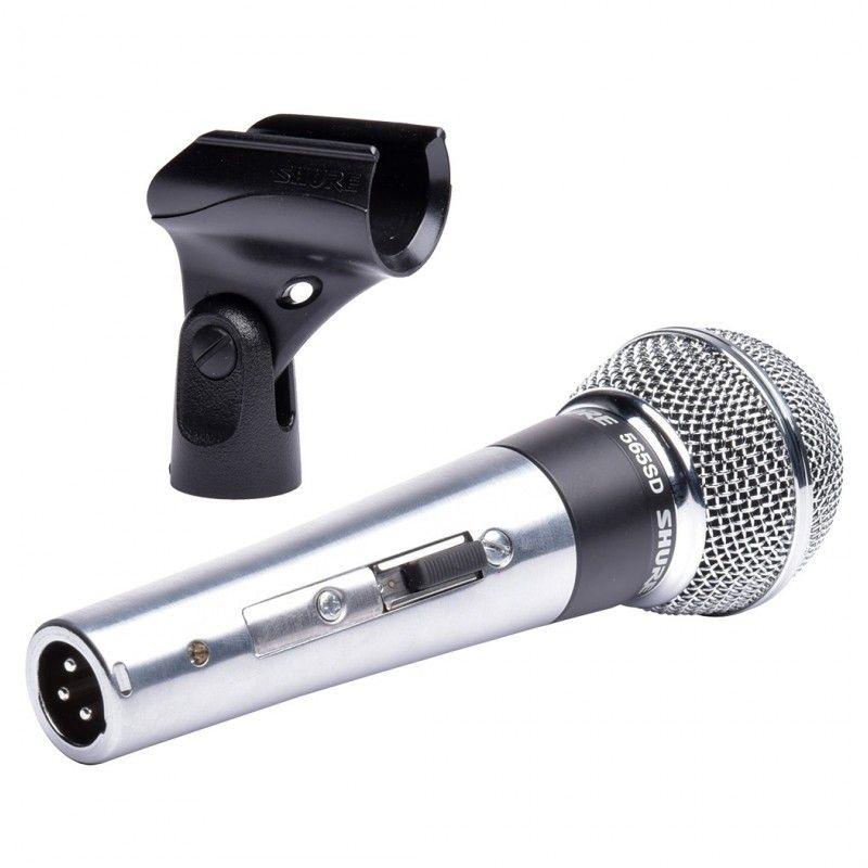SHURE 565SD-LC - wokalny mikrofon dynamiczny