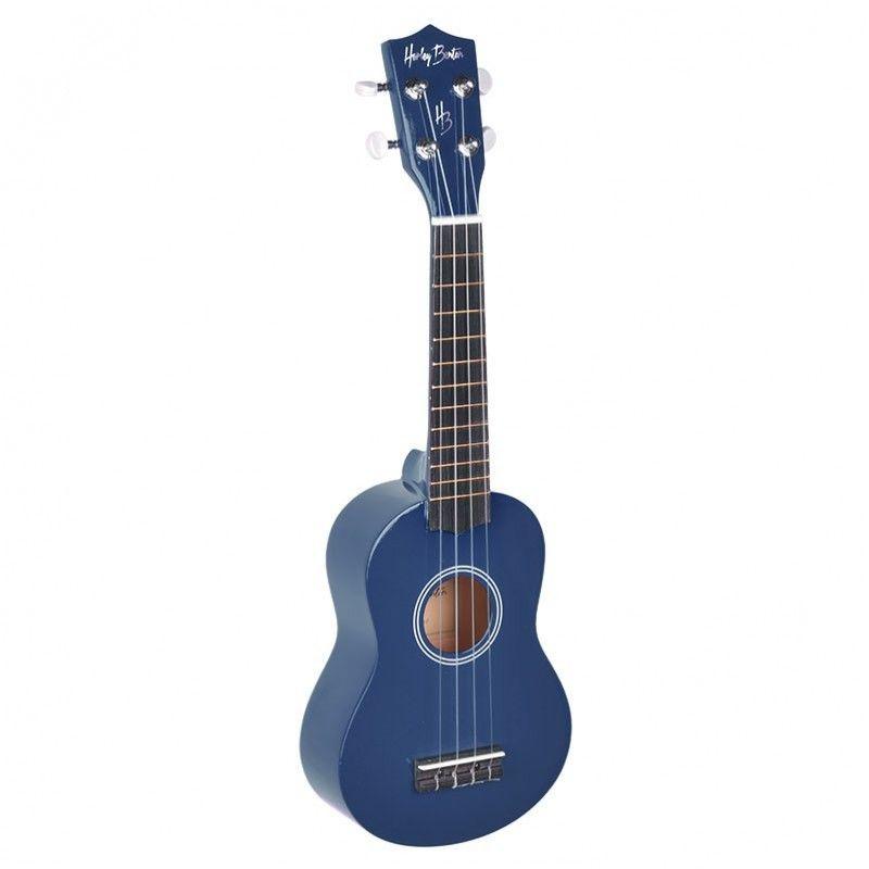 HARLEY BENTON UK 12 - niebieskie ukulele sopranowe