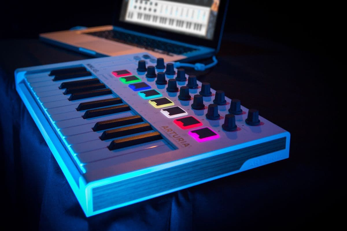 ARTURIA MINILAB MKII WH klawiatura sterująca MIDI