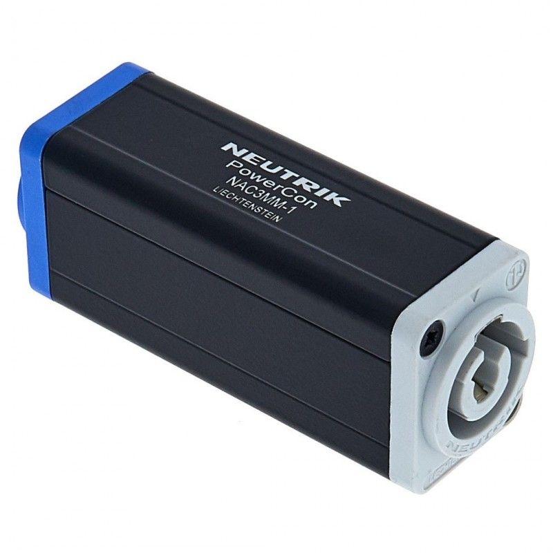 NEUTRIK NAC3 MM-1 adapter przedłużacz do powercon