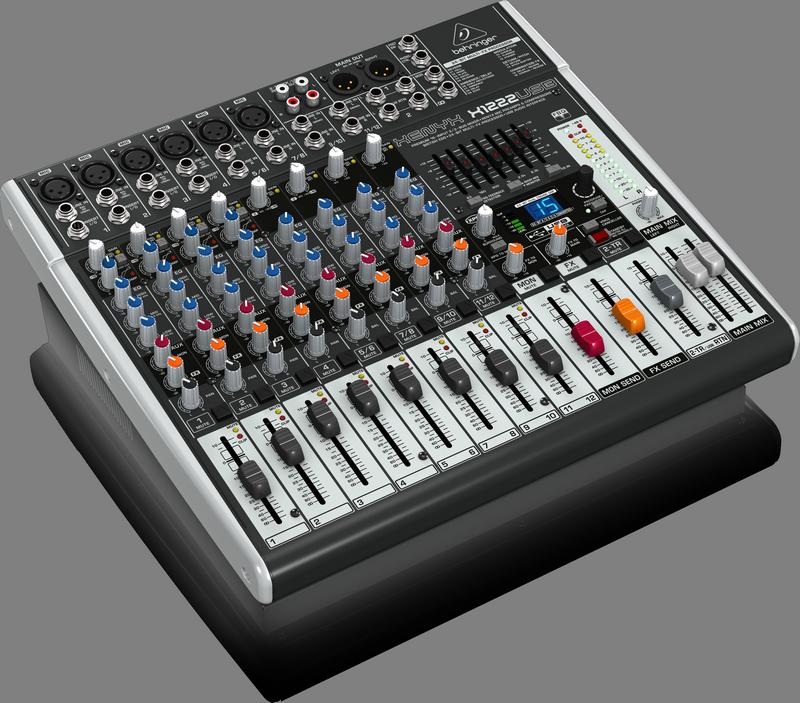 BEHRINGER XENYX X 1222 USB mikser analogowy audio