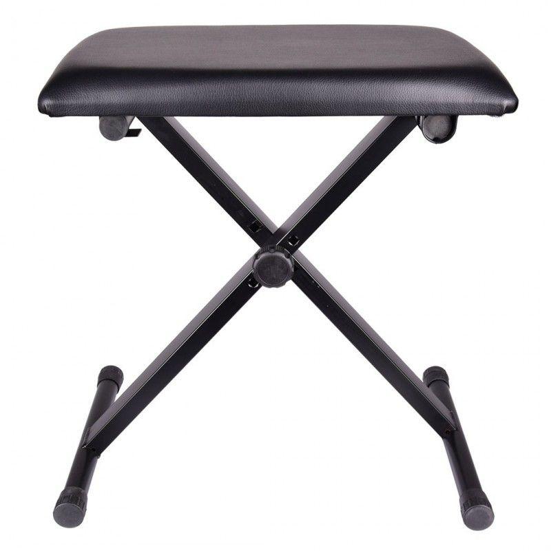 NN XA składana metalowa ława do pianina USZKODZONA