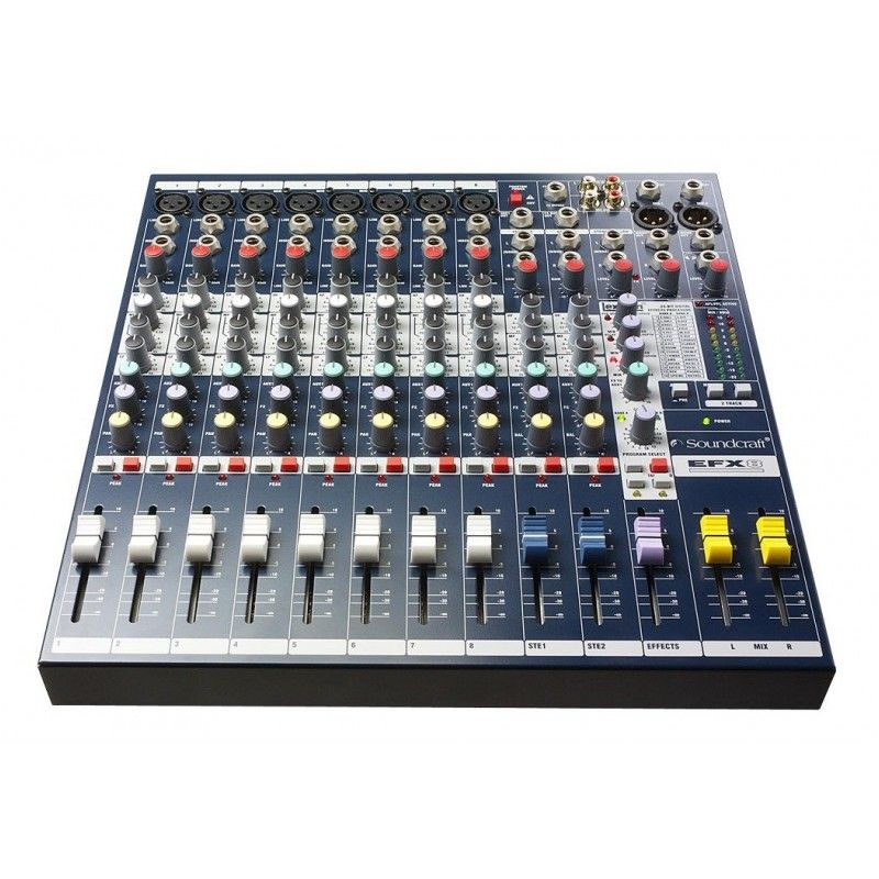SOUNDCRAFT EFX 8 mikser audio z efektami LEXICON