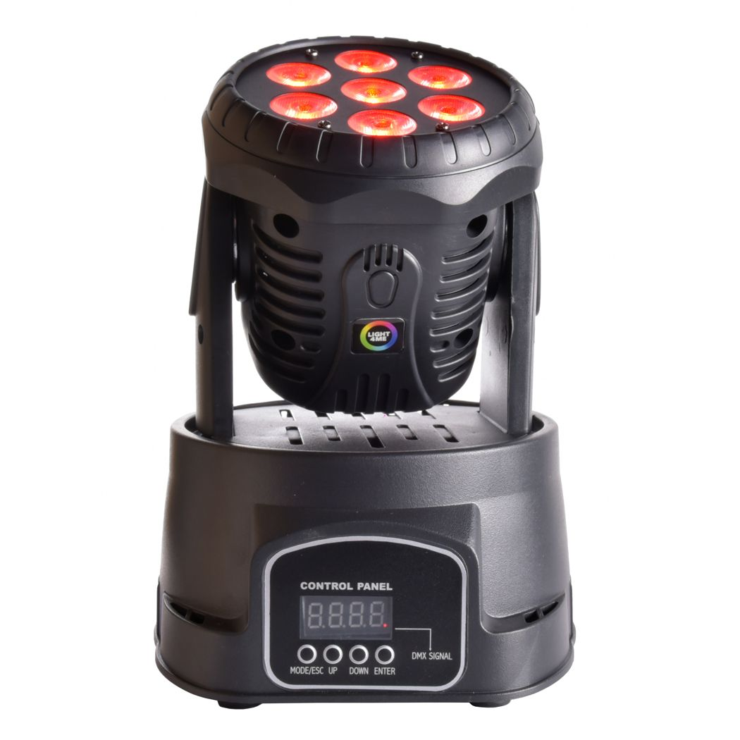 LIGHT4ME COMPACT MOVING HEAD 7x8W głowica ruchoma
