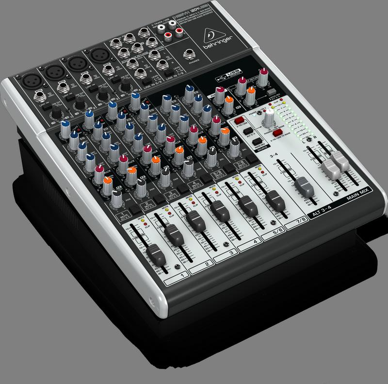 BEHRINGER XENYX 1204 USB mikser do domowego studia